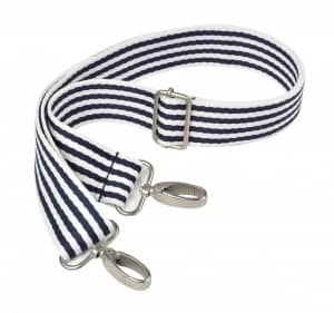 Beaba must have modern diaper bag striped navy stroller straps