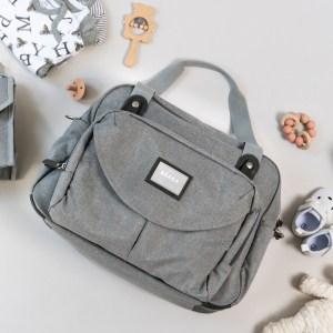 BEABA Geneva Diaper Bag Grey