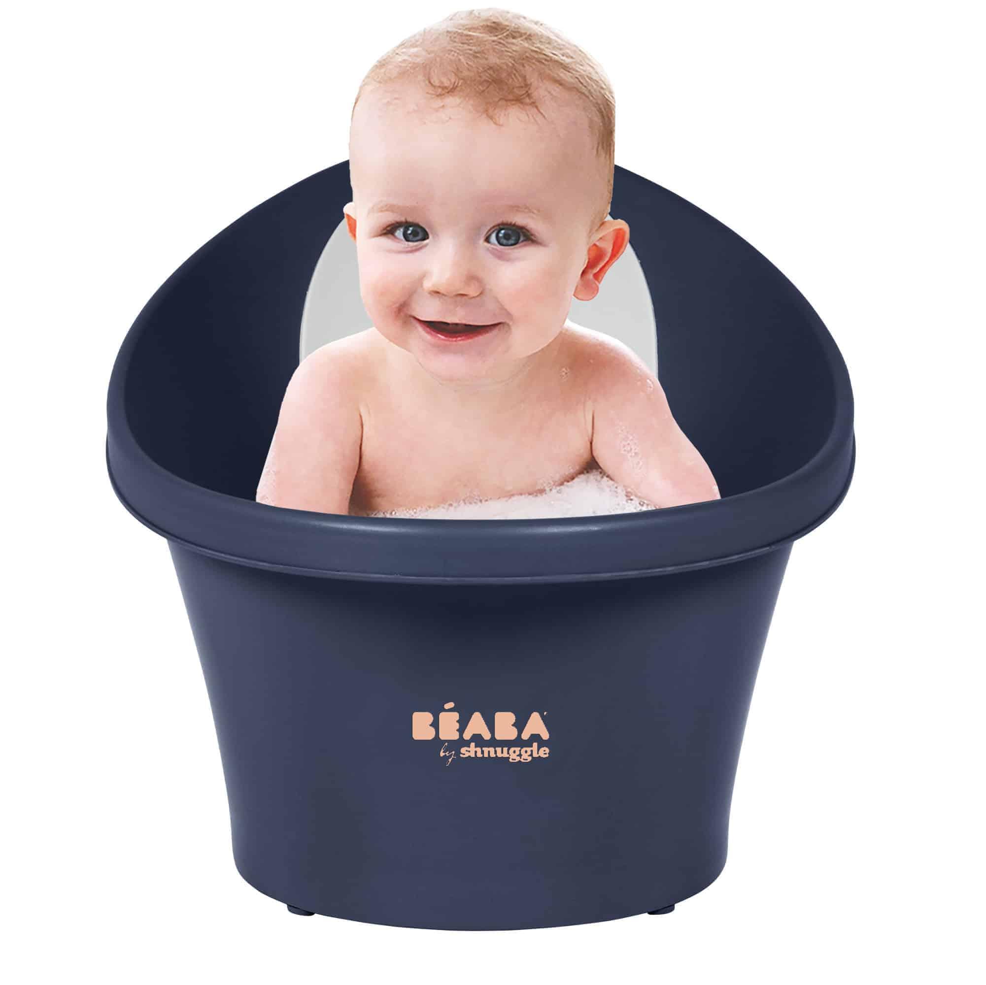 Midnight bath with baby