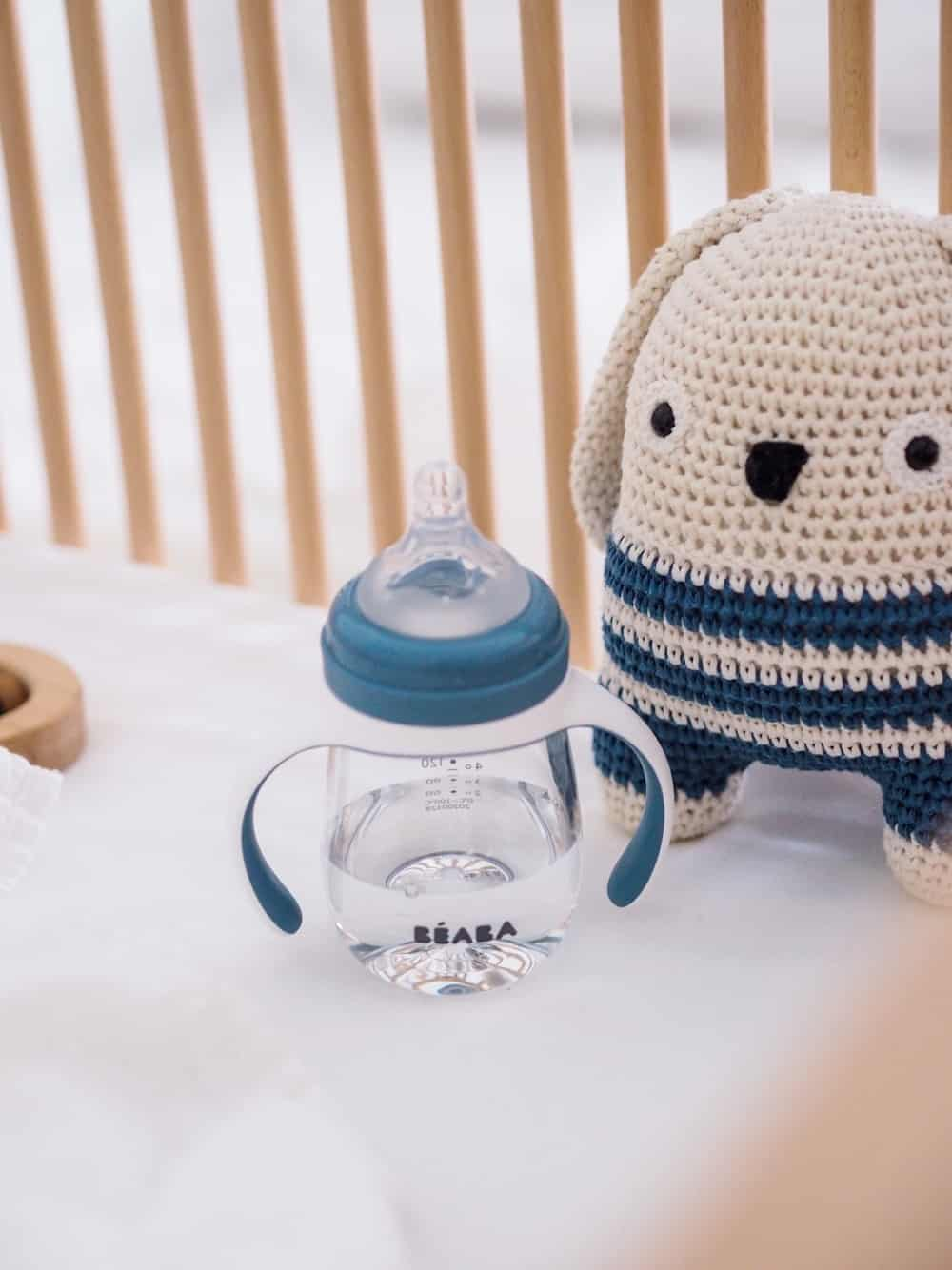Beaba 2-in-1 Training Bottle In Crib