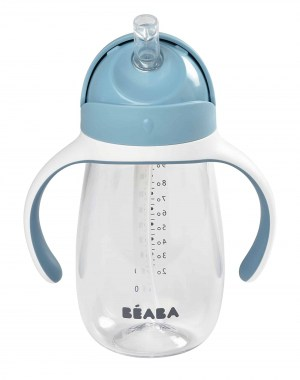 Beaba Straw Cup Rain Drinkware Sippy Cup for Baby