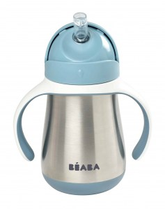 Beaba Stainless Steel Cup Rain Drinkware for Baby and Toddlers