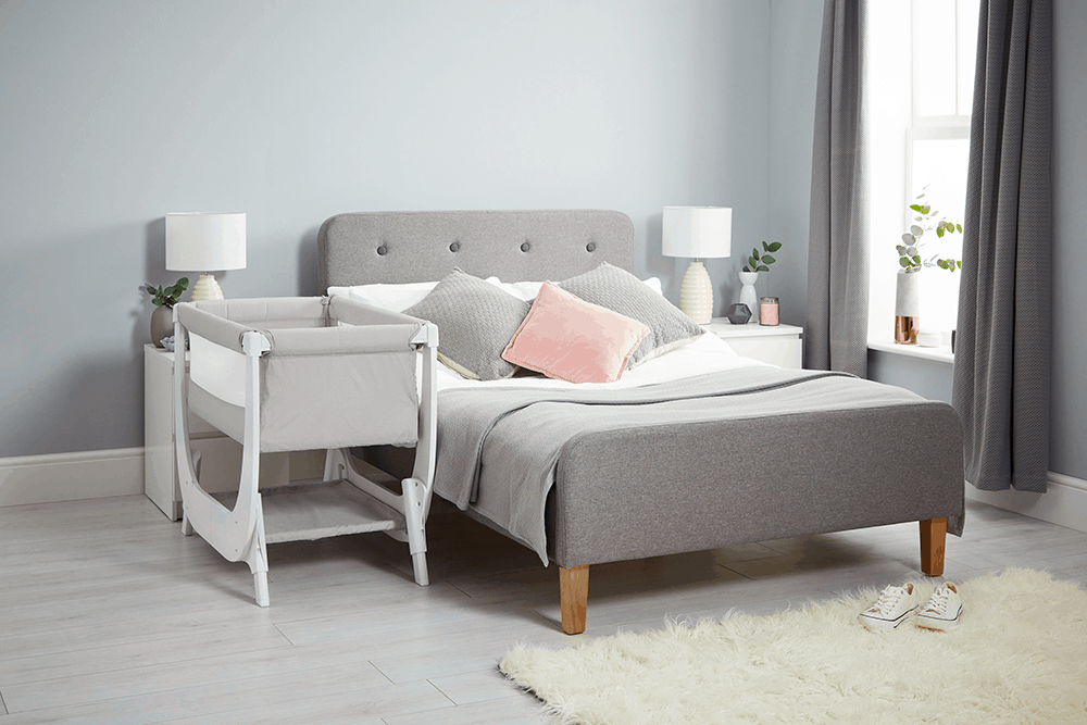 Beaba By Shnuggle Air Bedside Sleeper Infant Crib Next To Bed