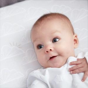 Baby On Beaba by Shnuggle Bedside Sleeper Infant Crib Bedding Set