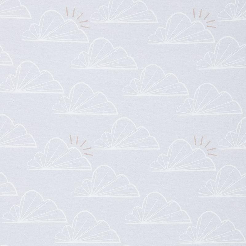 Beaba by Shnuggle Air Cot Sheets close up
