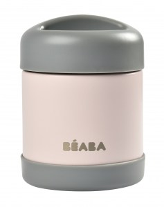 Beaba Stainless Steel Insulated Jar 10oz Rose