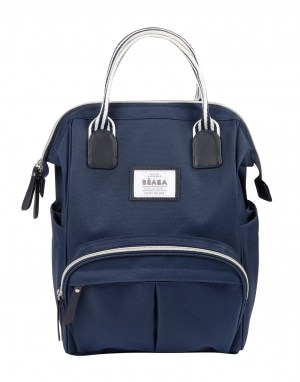 Wellington Backpack Diaper Bag Navy