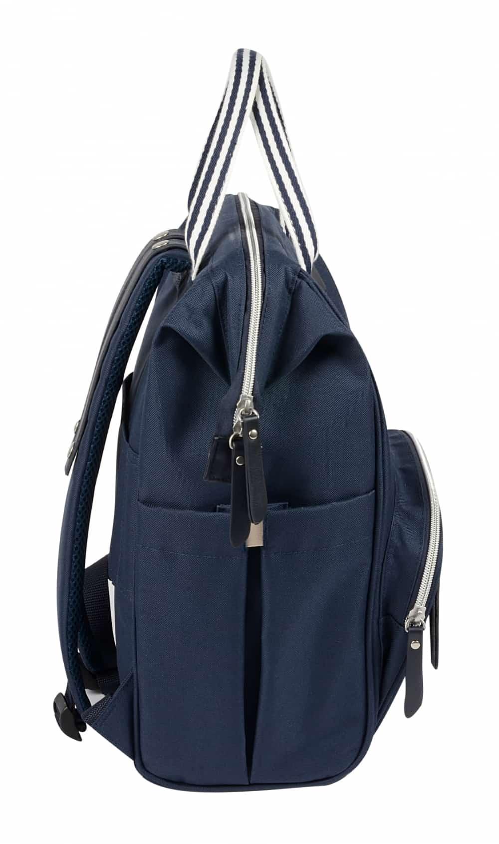 Wellington Backpack Diaper Bag Navy