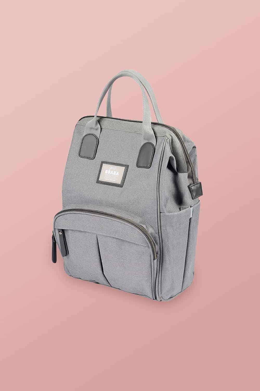 BEABA Wellington Diaper Backpack on pink