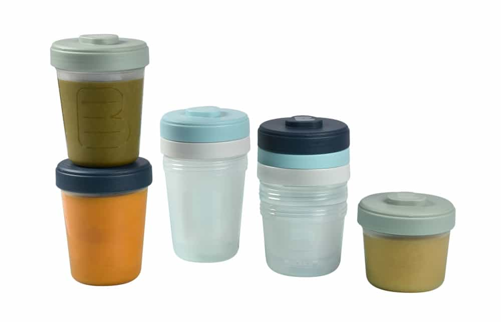 Baby Food Storage Clip Containers Set of 8 Large