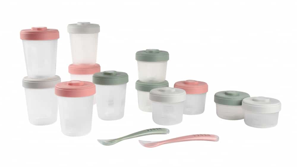 913502 Clip Containers Set of 12 Eucalyptus