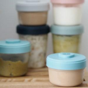 beaba clip containers set of 6, medium
