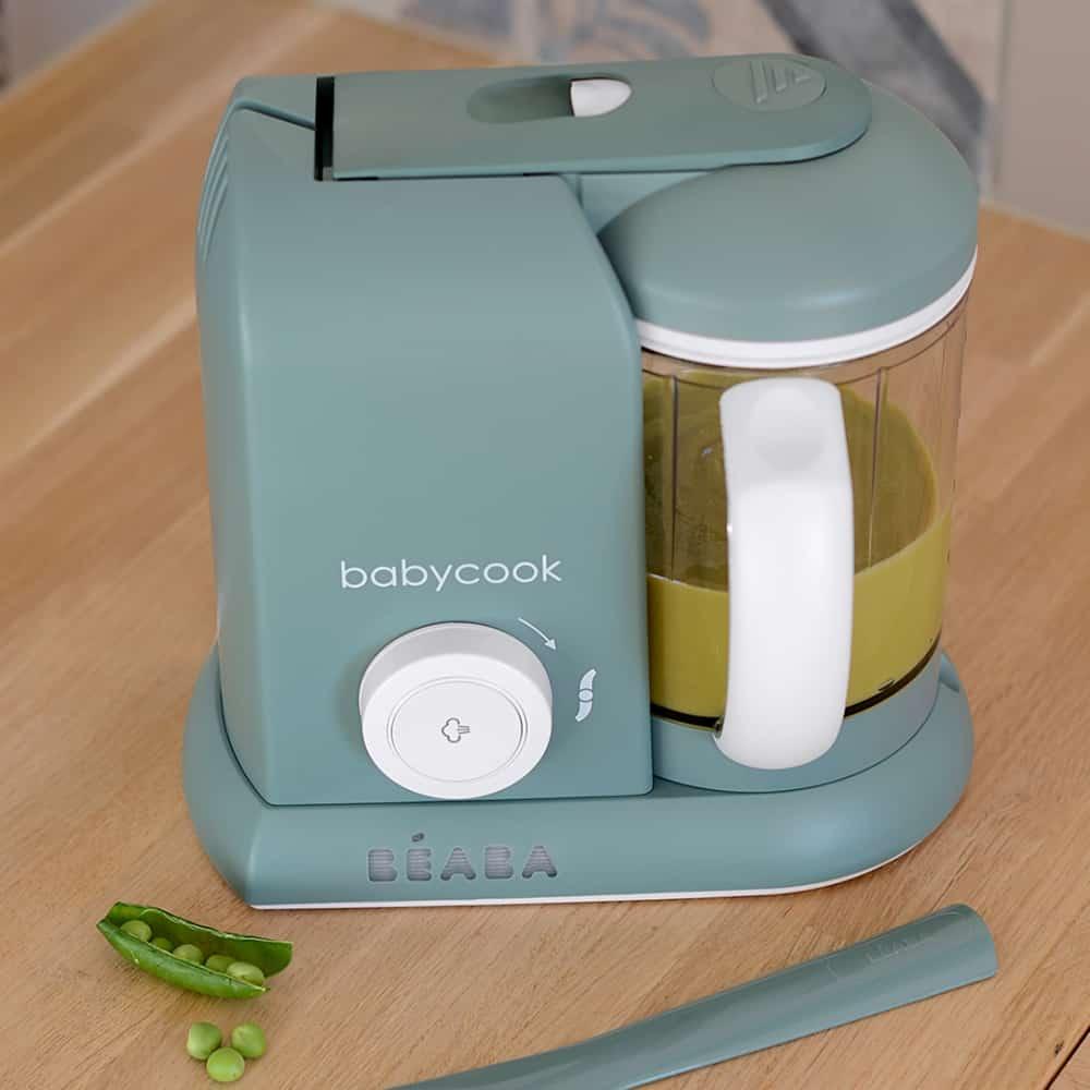 babycook solo eucalyptus on kitchen counter