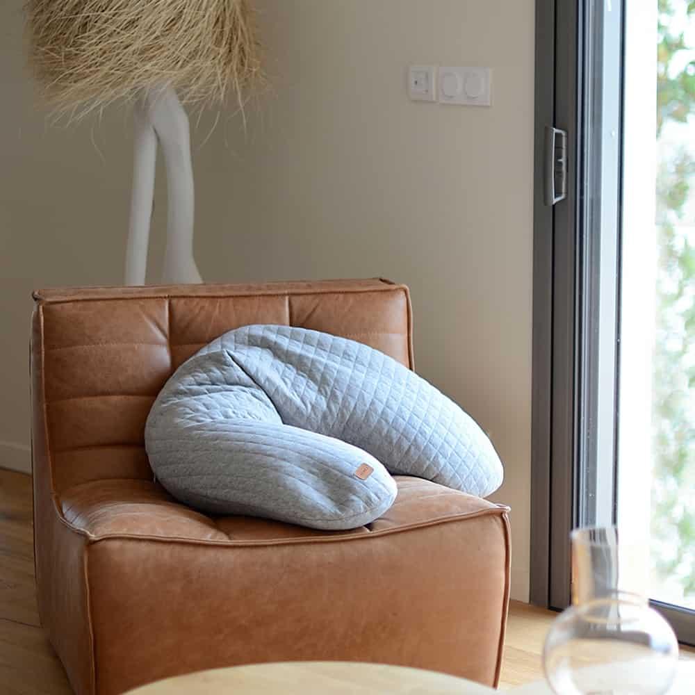 Big Flopsy Maternity Nursing Pillow On Chair