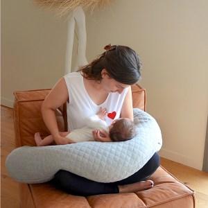 Big Flopsy Maternity Nursing Pillow With Mom